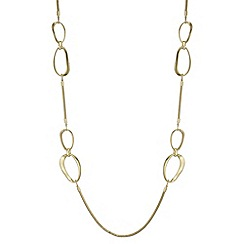 Principles - Organic oval rope necklace
