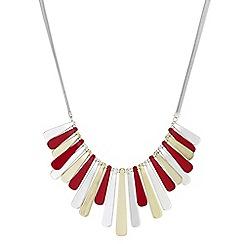 Principles - Graduated fan necklace