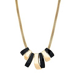 Principles - Geometric link necklace