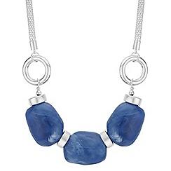 Principles - Blue stone statement necklace