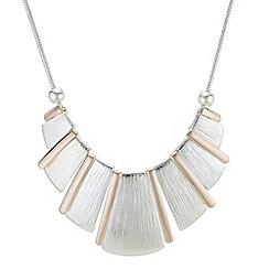 Principles - Multi tone fan necklace