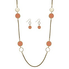 Principles - Disc link jewellery set