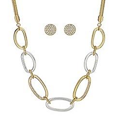 Principles - Pave link jewellery set
