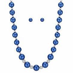 Principles - Pave pearl jewellery set