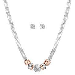 Principles - Pave charm jewellery set