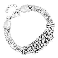 Principles - Crystal mesh bracelet
