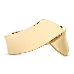 Principles - Gold twist cuff bracelet