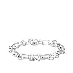 Principles - Silver plated silver polished bracelet