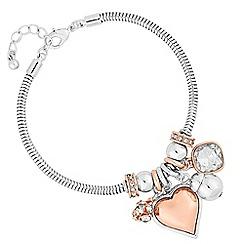 Principles - Rhondel heart bracelet