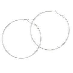 Red Herring - Oversized hoop earrings