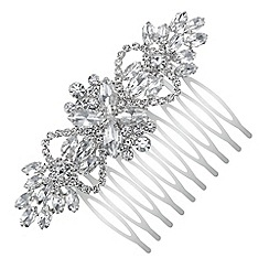 Red Herring - Crystal hair comb