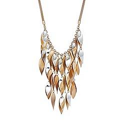 Red Herring - Petal drop necklace