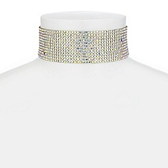 Red Herring - Crystal choker necklace