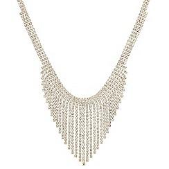 Red Herring - Diamante shower necklace