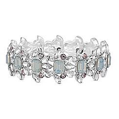 Red Herring - Crystal stretch bracelet