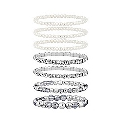 Red Herring - Multipack pearl silver stretch