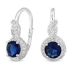 Simply Silver - Sterling silver clara hook earrings