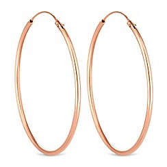 Simply Silver - Sterling silver hoop earrings