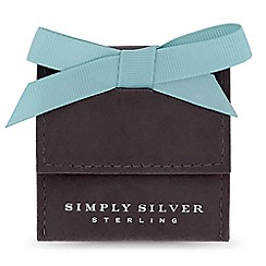 Simply Silver - Simply silver gift pouch