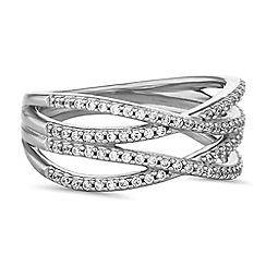 Simply Silver - Sterling silver open band rings