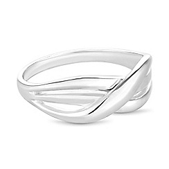 Simply Silver - Sterling silver wrap ring