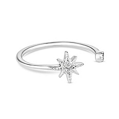 Simply Silver - Sterling silver north star ring