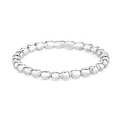 Simply Silver - Sterling silver bead ring