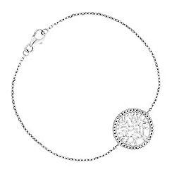 Simply Silver - Sterling silver tree of life bracelet