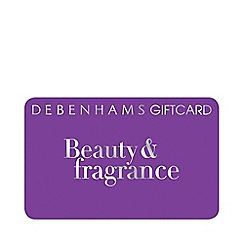 Debenhams - Purple Beauty & Fragrance gift card