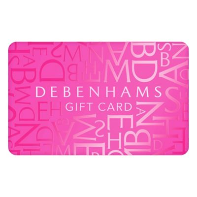 debenhams pink gift card debenhams