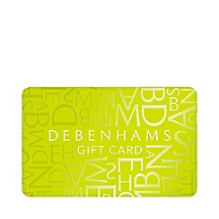 Debenhams - Green gift card