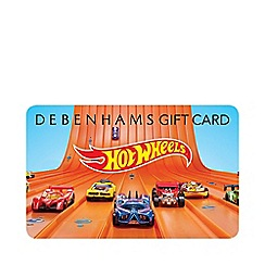Debenhams - Hot Wheels Gift Card