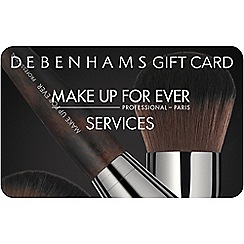 MAKE UP FOR EVER - Services gift card