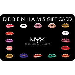 NYX Professional Makeup - NYX gift card