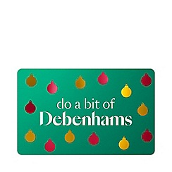 Debenhams - Baubles gift card