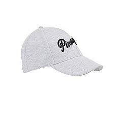 Miss Selfridge - Pineapple grey baseball cap