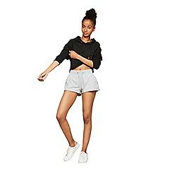 Miss Selfridge - Pineapple grey runner shorts