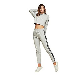 Miss Selfridge - Pineapple grey mono elastic joggers