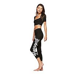 Miss Selfridge - Pineapple capri bold logo leggings