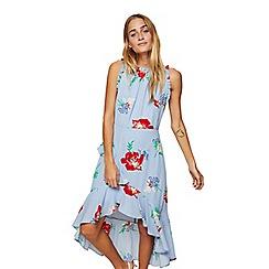 Miss Selfridge - Floral high low midi dress