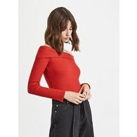 ba2248c944b330 Miss Selfridge Black velvet funnel neck crop top