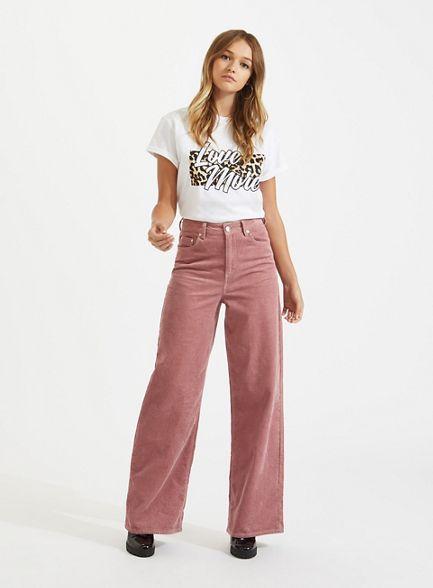 Love shirt slogan Selfridge leopard Miss more' t q4wU5F