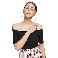 Miss Selfridge - Short sleeve bardot bodysuit