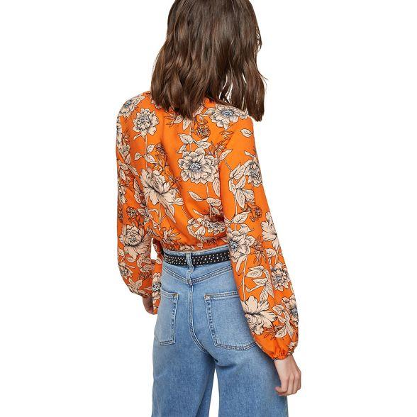 Miss floral Selfridge blouse Orange wrap nRPOwnxar1