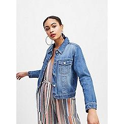 Miss Selfridge - Blue Mid Denim Jacket