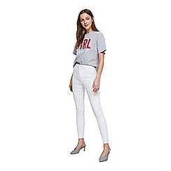 Miss Selfridge - Lizzie white skinny jeans