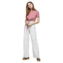 Miss Selfridge - Bleach wide leg jeans