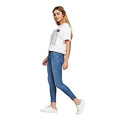 Miss Selfridge - Mid blue skinny jeans