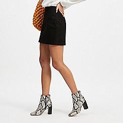 Miss Selfridge - Black Stretch Mini Skirt