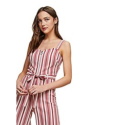 Miss Selfridge - Striped benga jumpsuit